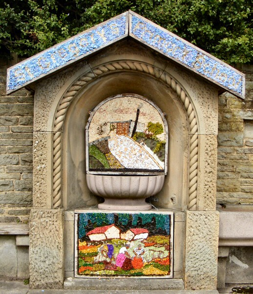 Bollington 2010 - Greg Fountain Well Dressing