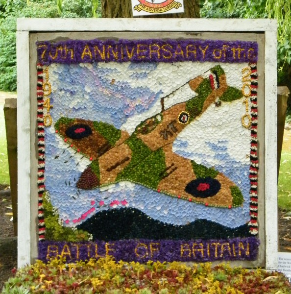 Bollington 2010 - Memorial Gardens Well Dressing
