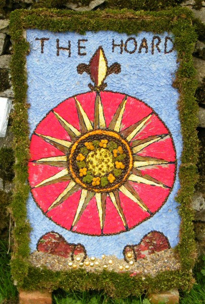 Grindon 2010 - Pinfold Well Dressing