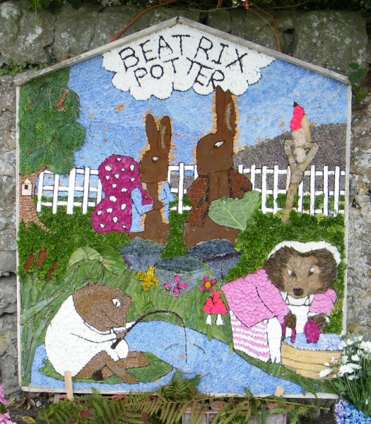 Bonsall 2010 - Fountain Well Dressing