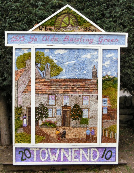 Bradwell 2010 - Town End Well Dressing