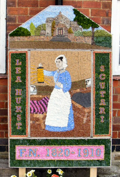 Holloway 2010 - Florence Nightingale Memorial Hall Well Dressing