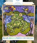 Blue Grass Purple Cow Nursery Well Dressing