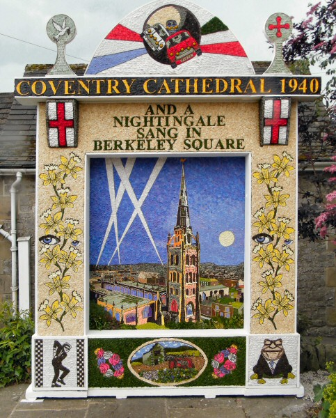 Tideswell 2011 - Village Well Dressing