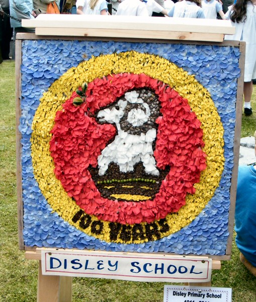 Disley 2011 - Disley School Well Dressing