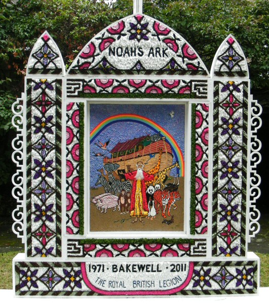 Bakewell 2011 - Garden of Remembrance Well Dressing