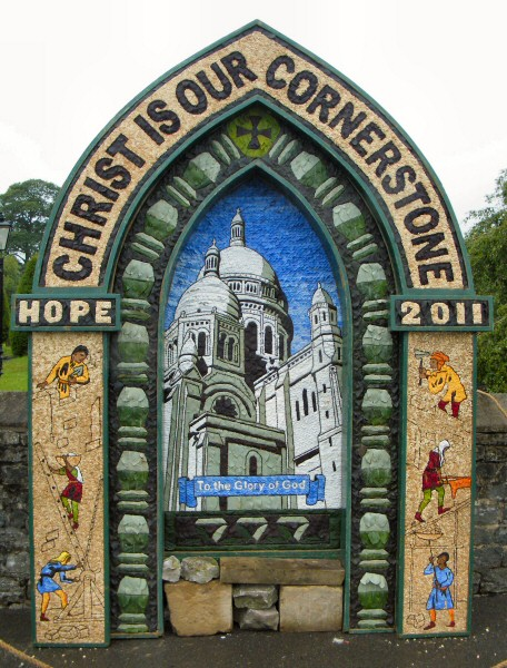 Hope 2011 - St Peter's Church Well Dressing