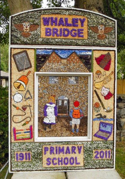 Whaley Bridge 2011 - Canal Basin Well Dressing