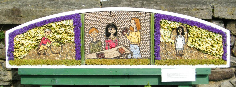 Whaley Bridge 2011 - Additional Well Dressing at Canal Basin (Whaley Well Dressing)