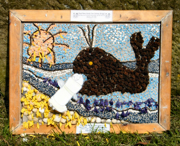 Whaley Bridge 2011 - Additional Well Dressing at Canal Basin (Good News)