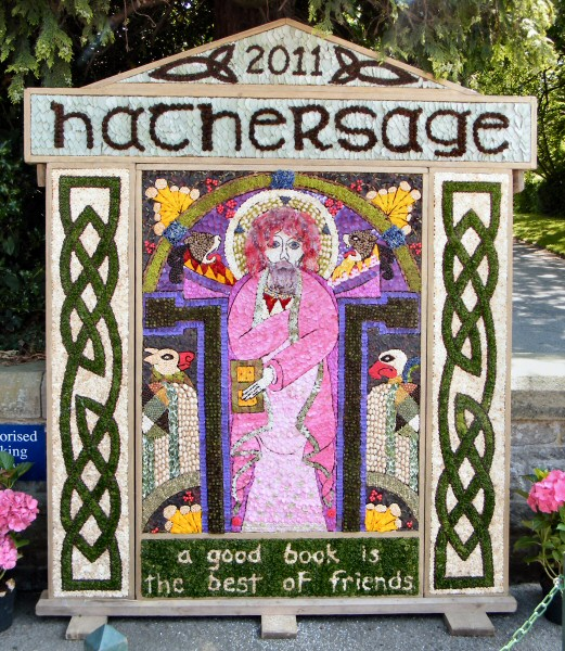 Hathersage 2011 - Methodist Church Well Dressing