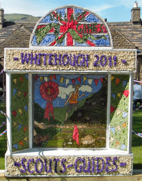Whitehough 2011 - Scouts & Guides Well Dressing