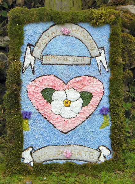 Grindon 2011 - The Pinfold Well Dressing