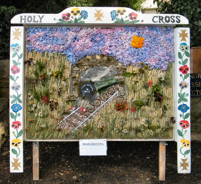 Upper Langwith 2011 - Langwith Residents Well Dressing