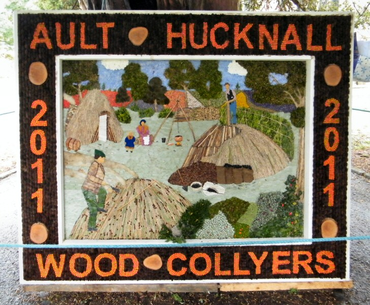 Ault Hucknall 2011 - St John the Baptist Church Well Dressing