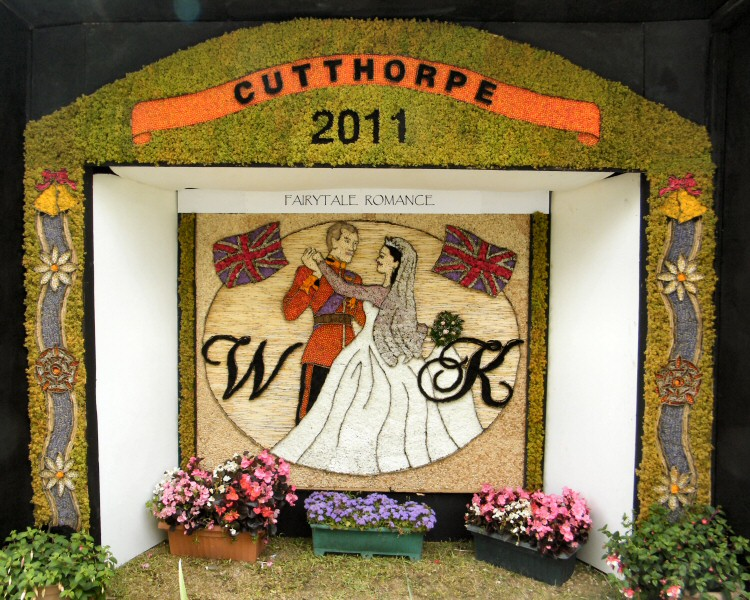 Cutthorpe 2011 - Village Well Dressing