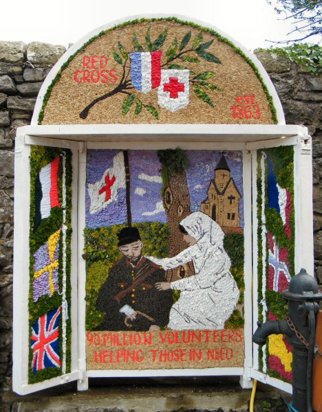 Little Longstone 2011 - Main Well Dressing