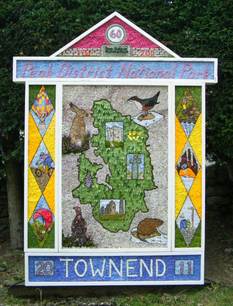 Bradwell 2011 - Town End Well Dressing