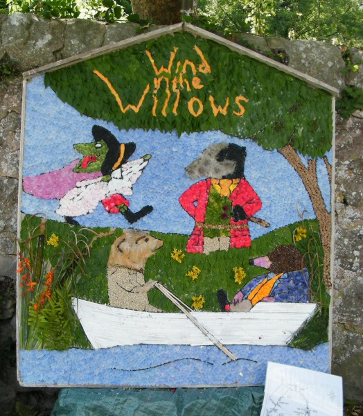 Bonsall 2011 - Fountain Well Dressing