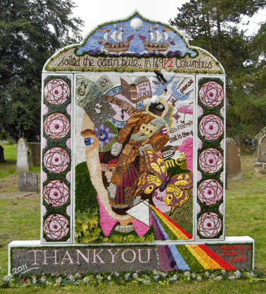 Taddington 2011 - St Michael's Church Well Dressing
