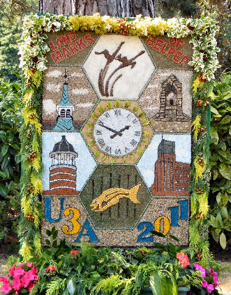 Belper 2011 - University of the Third Age Well Dressing
