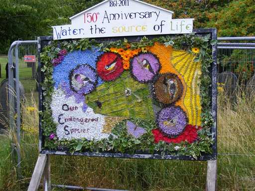 Burngreave Cemetery 2011 - Well Dressing