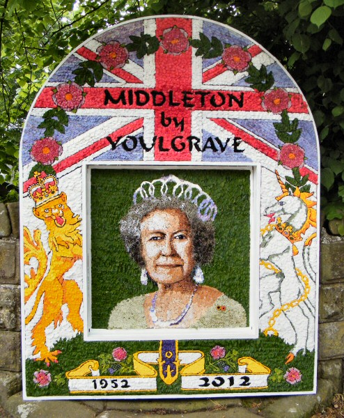 Middleton by Youlgrave 2012 - Village Well Dressing