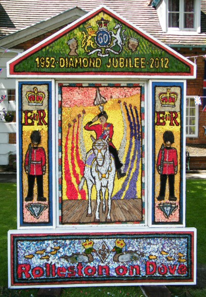 Rolleston-on-Dove 2012 - Main Well Dressing