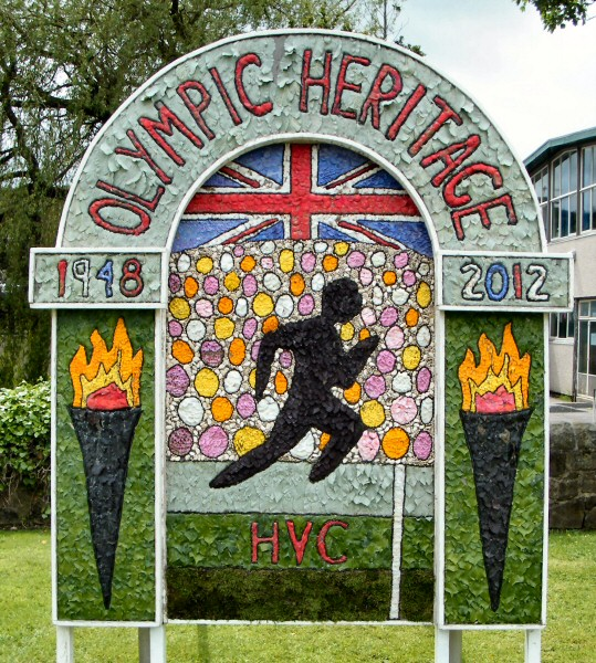 Hope 2012 - Hope Valley College Well Dressing