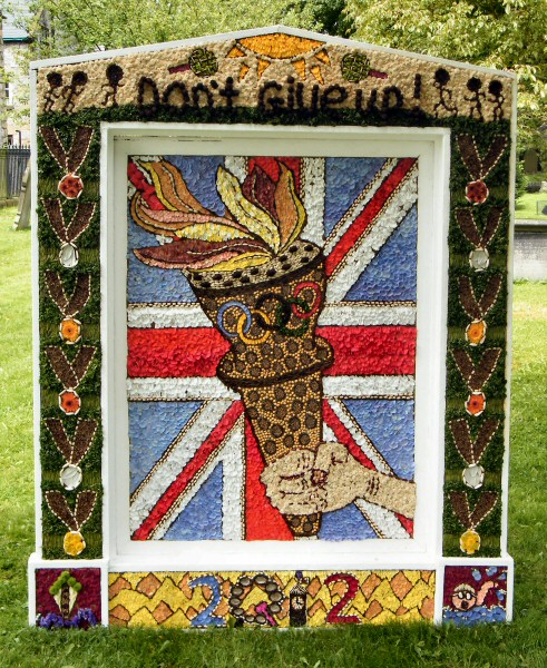 Tideswell 2012 - School Well Dressing