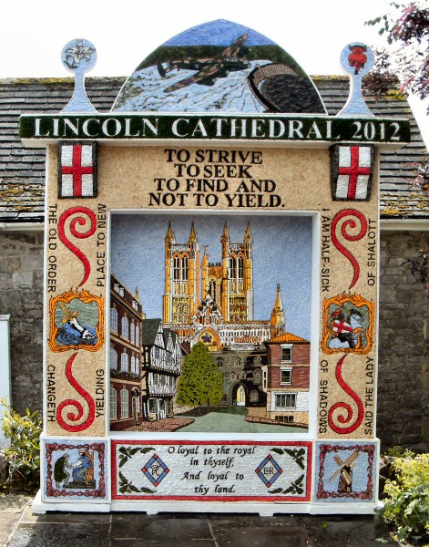 Tideswell 2012 - Village Well Dressing