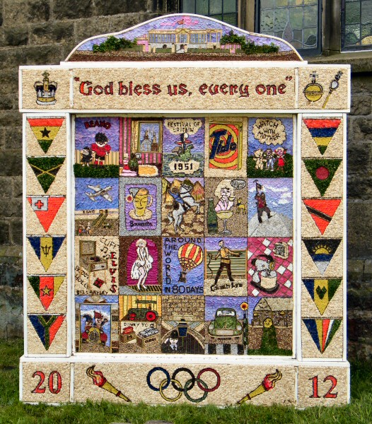 Litton 2012 - Methodist Church Well Dressing
