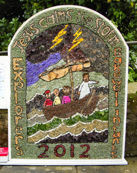 Bakewell 2012 - Bakewell CE Primary School & Explorers' Well Dressing