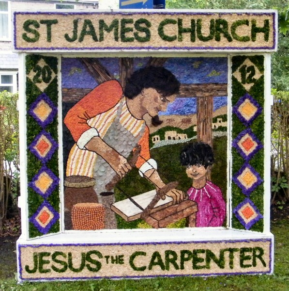 Buxworth 2012 - St James' Church Well Dressing
