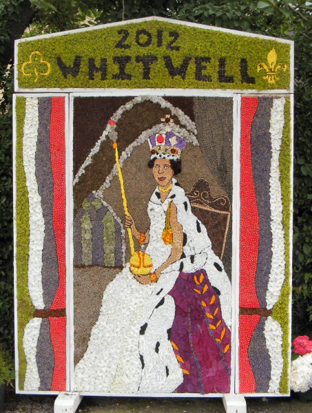 Whitwell 2012 - Village Square Well Dressing