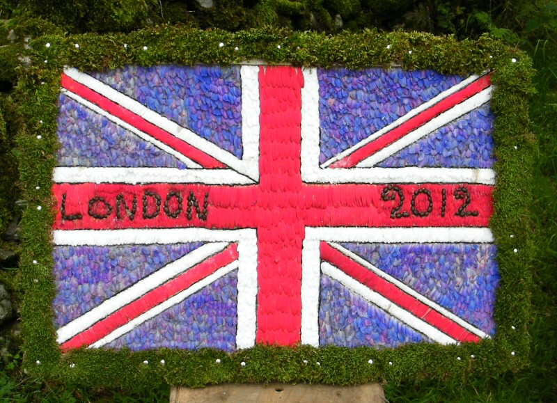 Grindon 2012 - Pinfold Well Dressing