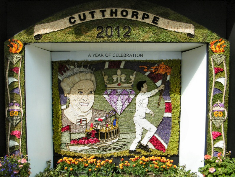 Cutthorpe 2012 - Village Well Dressing