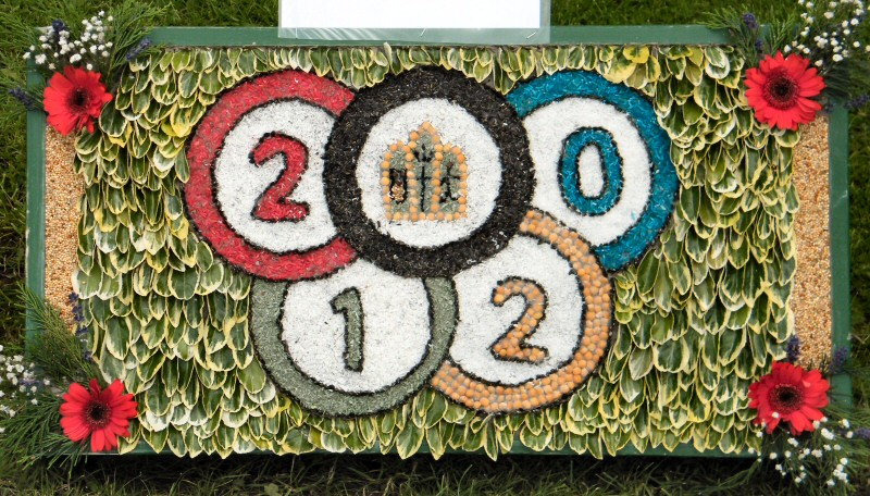 Belper 2012 - St John's CE Primary School Well Dressing (3)