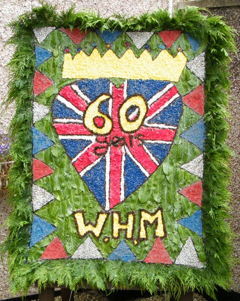 West Hallam 2012 - West Hallam Minors Well Dressing