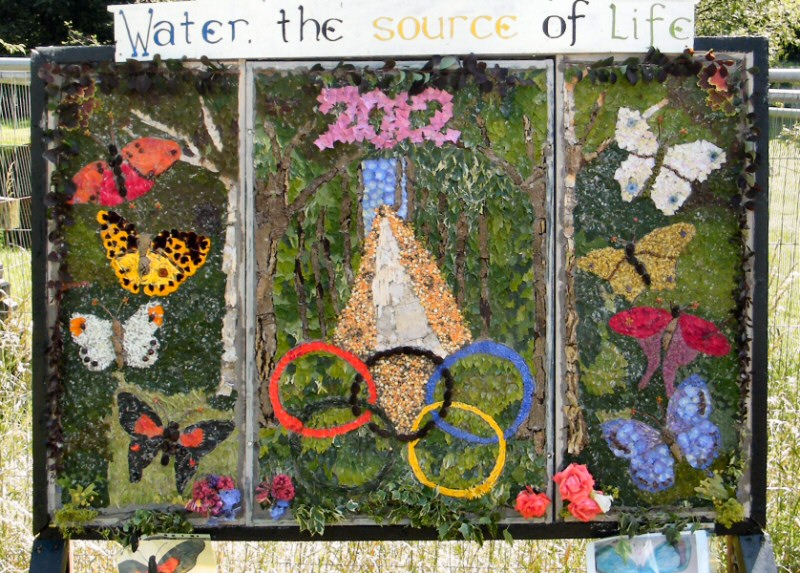 Burngreave Cemetery 2012 - Well Dressing