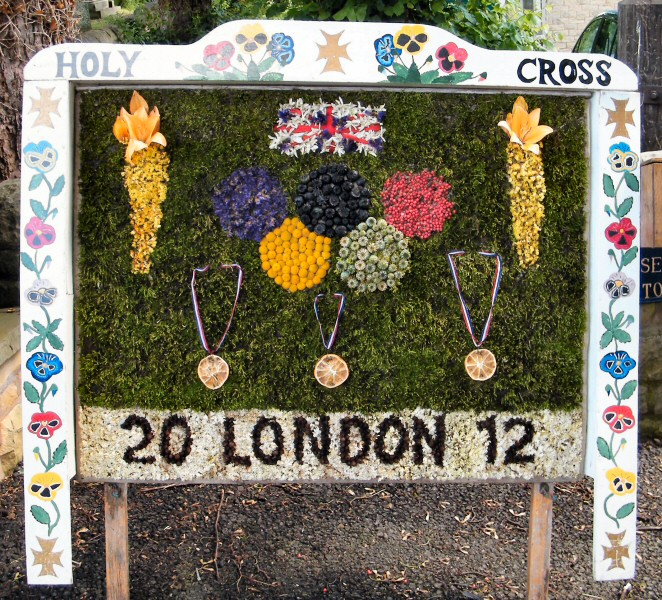 Upper Langwith 2012 - Langwith Residents Well Dressing