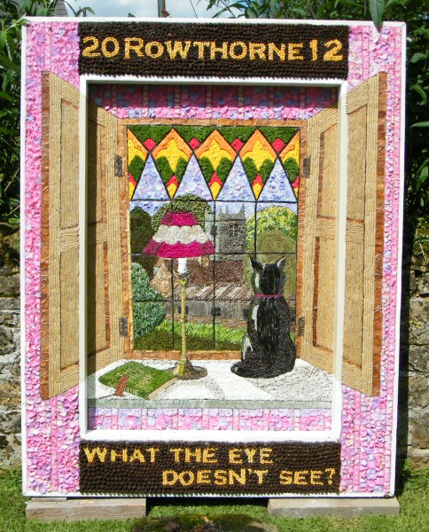 Rowthorne 2012 - Village Well Dressing