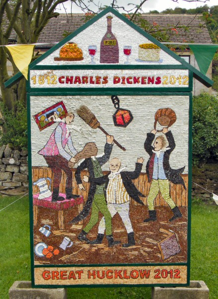 Great Hucklow 2012 - Children's Well Dressing