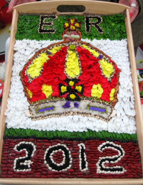Stafford County Showground 2012 - Demonstration Well Dressing