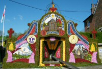 Village Fountain Well Dressing