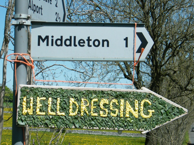 Middleton by Youlgrave 2013 - Fingerboard, north of village