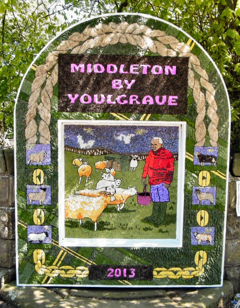 Middleton by Youlgrave 2013 - Village Well Dressing