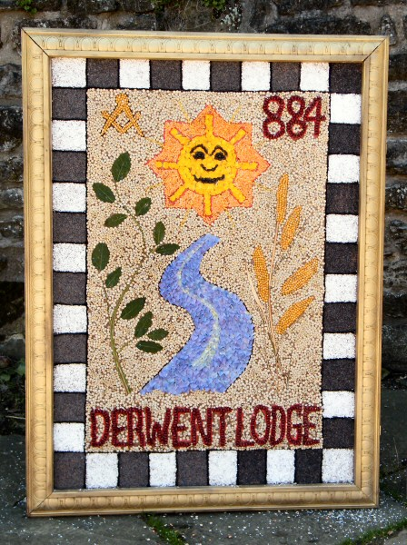 Wirksworth 2013 - Freemasons Well Dressing