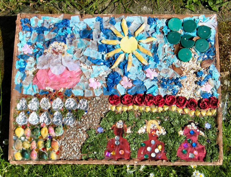 Chester Green 2013 - St Paul's Pre-School Playgroup Well Dressing