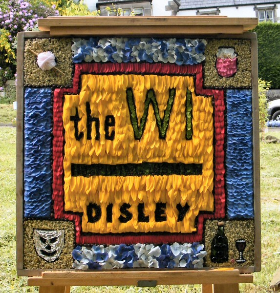 Disley 2013 - Women's Institute Well Dressing